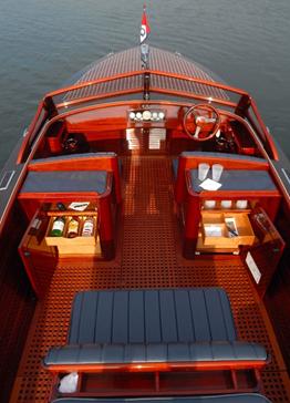 Barco em Mogno Africano
